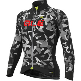 Alé Cycling Graphics PRR Glass Longsleeve Jersey Herre black-grey